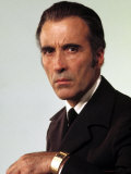 The Man with the Golden Gun, Christopher Lee, 1974 Photo