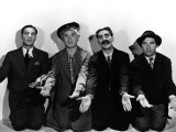 Monkey Business, Zeppo Marx, Harpo Marx, Groucho Marx, Chico Marx, 1931 Photo