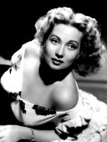Ann Sothern, Portrait Promoting Her Radio Program Maisie c.1945 Photo
