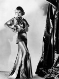 Constance Bennett in Evening Gown by Designer Adrian, 1935 Print