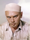 Escape from Zahrain, Yul Brynner, 1962 Photo