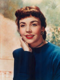 Portrait of Jennifer Jones Print