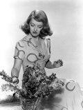Bette Davis Arranging Flowers Photo