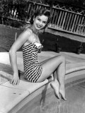 Debbie Reynolds Poolside, 1954 Prints