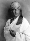 Portrait of Sheik, Rudolph Valentino, 1921 Photo