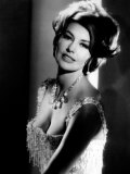 Portrait of Cyd Charisse Print