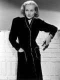Carole Lombard, Wearing a Black Dress, 1930's Photo