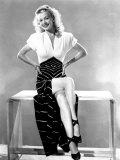 Carole Landis, Mid 1940s Poster