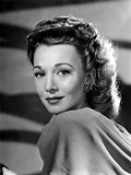 Out of the Blue, Carole Landis, 1947 Kunstdruck