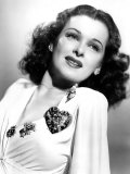 She Knew All the Answers, Joan Bennett, Wearing a Love U Brooch, 1941 Photo