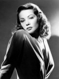 Gene Tierney, 1940s Poster