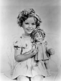 Shirley Temple with a Shirley Temple Doll, c.1936 Prints