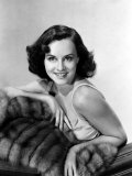 Paulette Goddard with Fur Coat Photographie