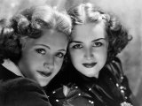 Priscilla and Rosemary Lane, c.1936 Photo