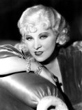 Portrait of Mae West Poster