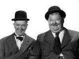 Stan Laurel, Oliver Hardy, c.1940s Photo