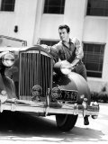 Robert Taylor and His Packard, 1930s Poster