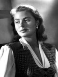 Portrait of Ingrid Bergman Poster
