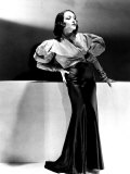 Lupe Velez Wearing Blue Satin Skirt with Red Taffeta Jacket, 1933 Kunstdrucke