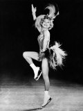 Sonja Henie Performing in Her Own Ice Show, Early 1950s Foto