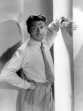 Portrait of Laurence Olivier, with Pleated Pants Prints