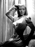 Portrait of Veronica Lake Poster