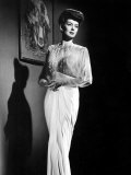 What a Woman, Rosalind Russell Wearing a Travis Banton Gown, 1943 Prints