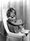 Shirley Temple in Paramount Publicity Photo, 1934 Print