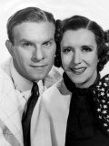 George Burns, Gracie Allen, Paramount Photo, c.1936 Print