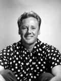 Van Johnson, Wearing a Polka Dot Shirt, Late 1940s Photo