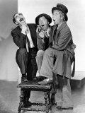Una noche en la ópera, Groucho Marx, Chico Marx, Harpo Marx, 1935 Fotografía