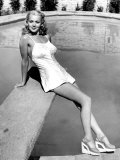 A Gentleman at Heart, Carole Landis, Between Scenes, 1942 Print