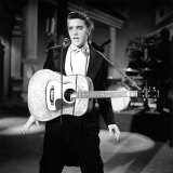 Steve Allen Show, 1956-61, One of Elvis Presley's First TV Appearances, 1956 Photo