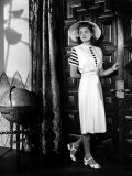 Casablanca, Ingrid Bergman Wearing a Jumper Dress Designed by Orry-Kelly, 1942 Prints