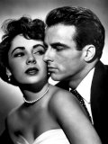 Place in the Sun, Elizabeth Taylor, Montgomery Clift, 1951 Photo
