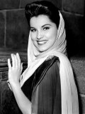 Prince Valiant, Debra Paget, On-Set, 1954 Plakater
