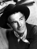 Carson City, Randolph Scott, 1952 Print