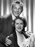 George Burns and Gracie Allen Show, George Burns, Gracie Allen, 1950-1958 Print