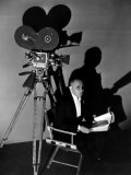 Three Faces East, Erich Von Stroheim Awaits His Cue, On-Set, 1930 Photo
