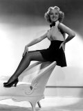This Way Please, Betty Grable, 1937 Print