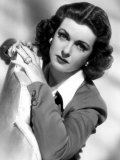 Portrait of Joan Bennett, c.1946 Posters - portrait-of-joan-bennett-c-1946