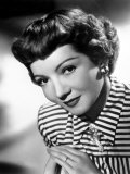 Portrait of Claudette Colbert, 1940s Prints