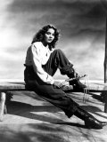 Jennifer Jones, Portrait with Whip Photo
