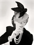 Lucille Ball Models a Unique Hat for a Publicity Still, 1940's Posters
