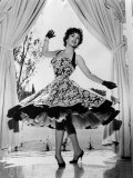 Gina Lollobrigida at Her Villa Near Rome, Italy, 1956 Prints
