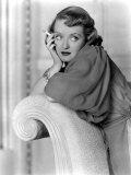 Bette Davis with a Cigarette Prints