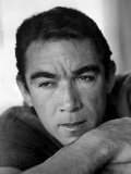 Anthony Quinn, March 15, 1957 Photo
