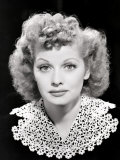 Lucille Ball Portrait, 1940's Poster