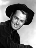 Portrait of Alan Ladd, as Seen in Costume from the Film Whispering Smith, 1948 Print