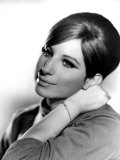Barbra Streisand, Portrait from Funny Girl, 1968 Photo